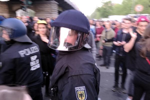 1.-Mai-Demo 2016 in Berlin, über dts Nachrichtenagentur