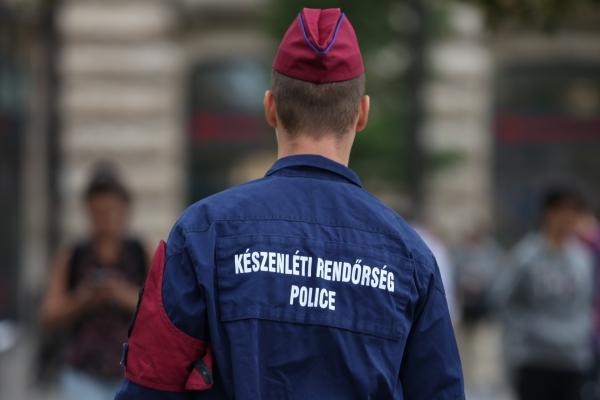 Ungarische Polizei, über dts Nachrichtenagentur