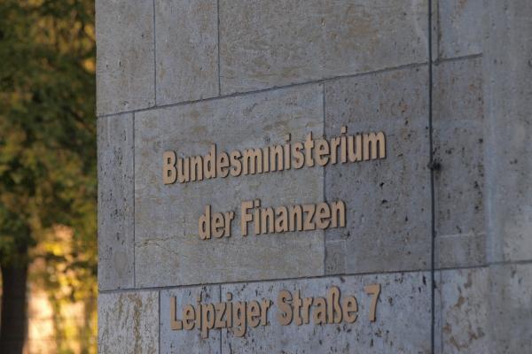 Bundesministerium der Finanzen, über dts Nachrichtenagentur