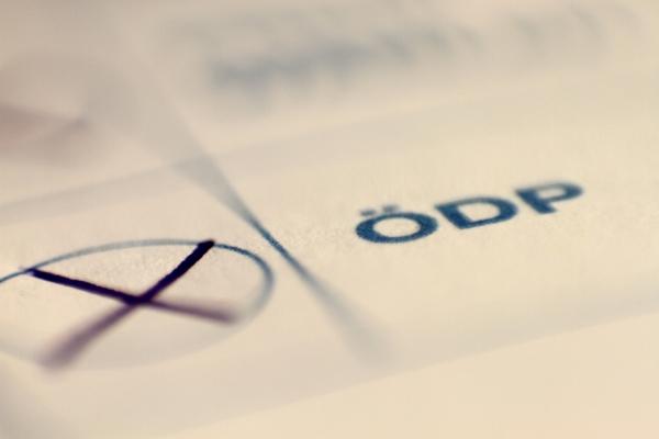 ÖDP auf Stimmzettel, über dts Nachrichtenagentur