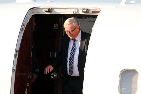 Jean-Claude Juncker am 06.07.2017 am Hamburger Flughafen, über dts Nachrichtenagentur