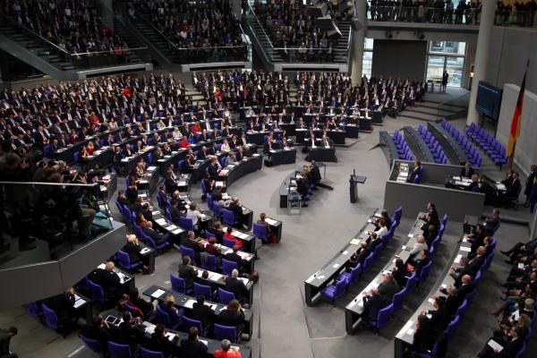 Konstituierende Sitzung des Bundestages am 24.10.2017, über dts Nachrichtenagentur
