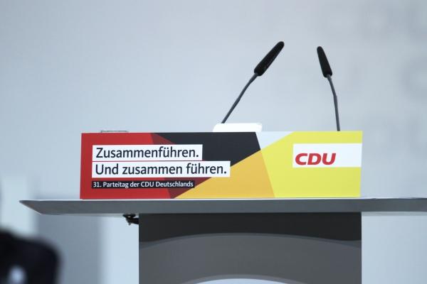 CDU-Parteitag Dezember 2018, über dts Nachrichtenagentur