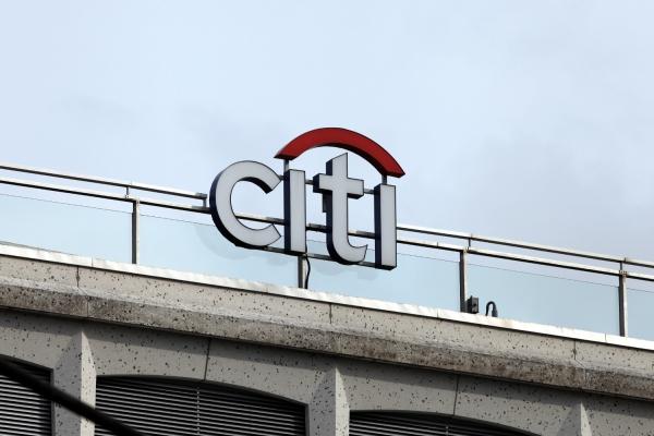Logo der Citi-Bank, über dts Nachrichtenagentur