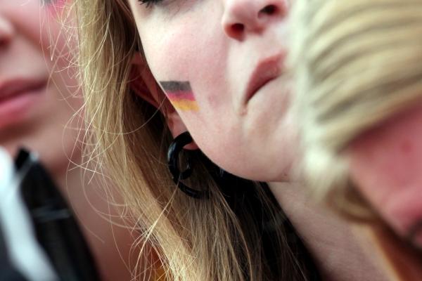 Weiblicher Fußballfan, über dts Nachrichtenagentur