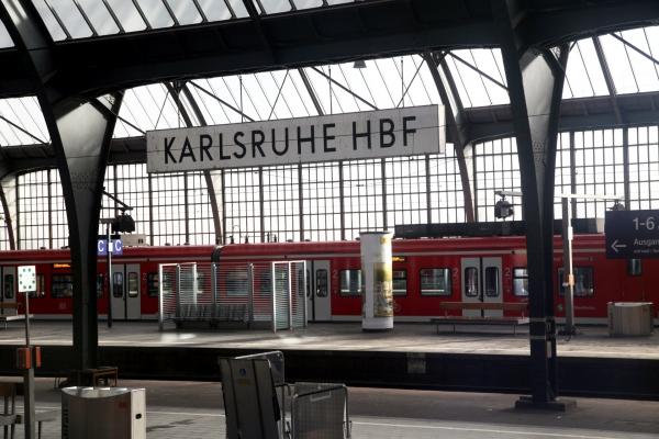 Karlsruhe Hbf, über dts Nachrichtenagentur