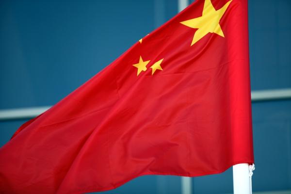 Fahne von China, über dts Nachrichtenagentur