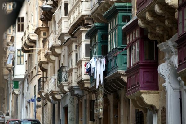 Hausfassaden auf Malta, über dts Nachrichtenagentur