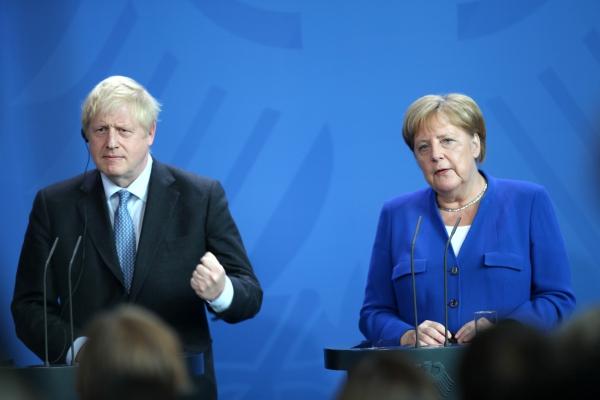 Boris Johnson und Angela Merkel am 21.08.2019, über dts Nachrichtenagentur