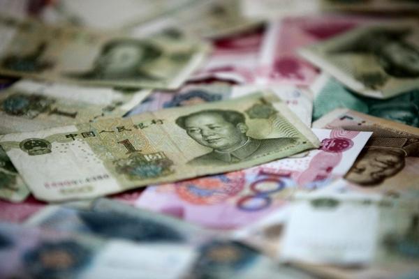 Chinesische Geldscheine, über dts Nachrichtenagentur