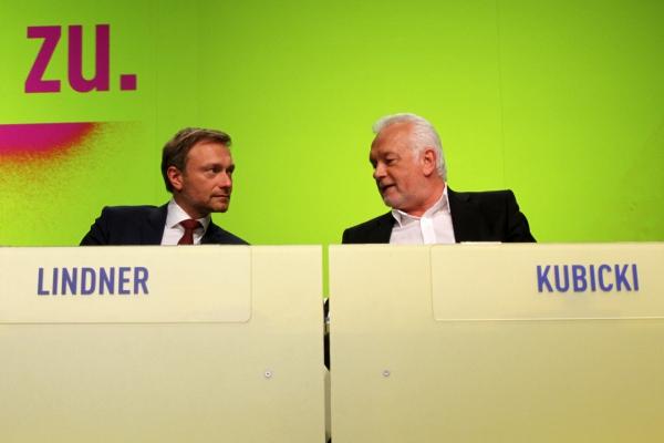 Christian Lindner und Wolfgang Kubicki, über dts Nachrichtenagentur