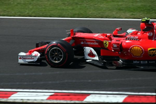 Formel-1-Rennauto von Ferrari, über dts Nachrichtenagentur