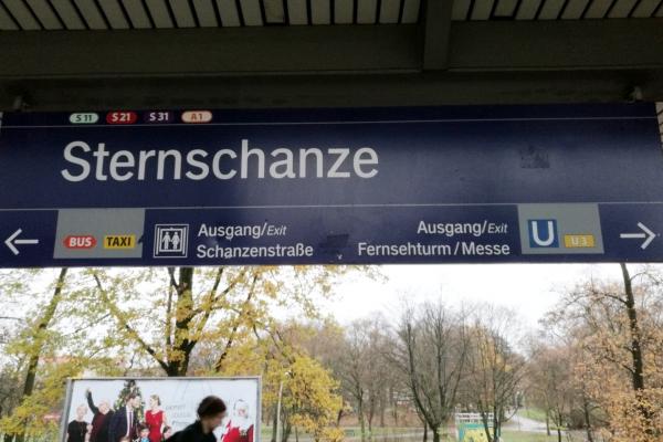 Hamburger S- und U-Bahnhof Sternschanze, über dts Nachrichtenagentur