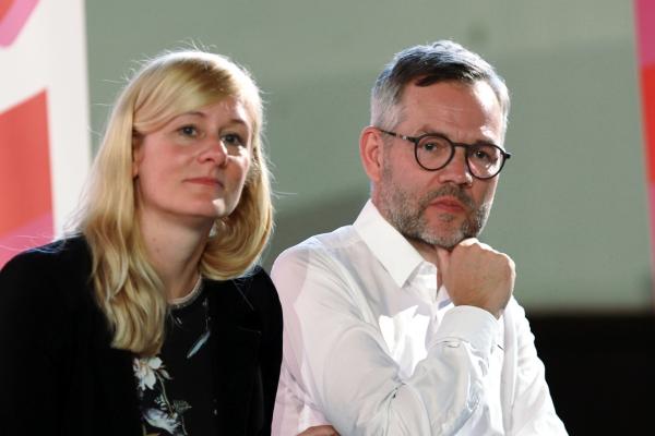 Christina Kampmann und Michael Roth, über dts Nachrichtenagentur
