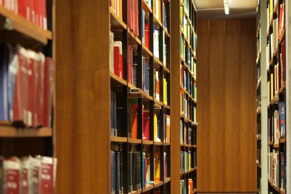 Bücher in einer Bibliothek, über dts Nachrichtenagentur