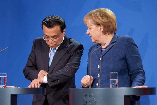 Li Keqiang und Angela Merkel, über dts Nachrichtenagentur