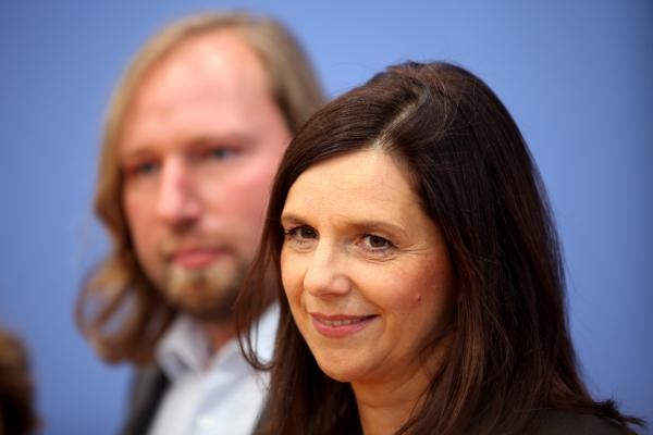 Anton Hofreiter und Katrin Göring-Eckardt, über dts Nachrichtenagentur