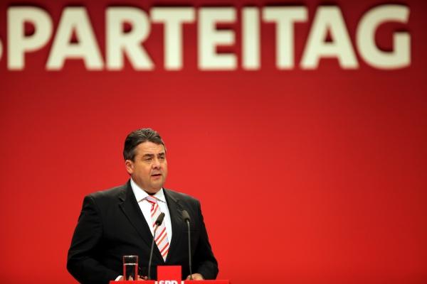 Sigmar Gabriel auf dem SPD-Parteitag in Leipzig am 14.11.2013, über dts Nachrichtenagentur
