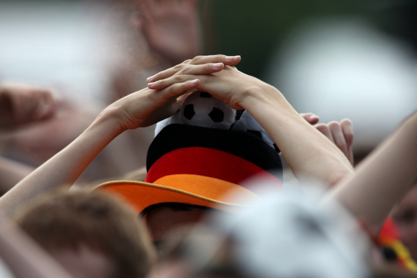 Fußballfan der Deutschen Fußball-Nationalmannschaft, über dts Nachrichtenagentur