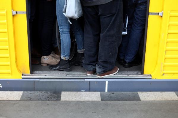 Überfüllte U-Bahn, über dts Nachrichtenagentur