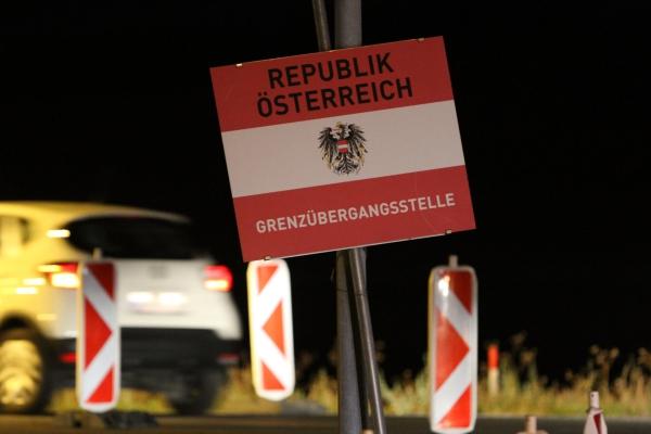 Österreichischer Grenzübergang, über dts Nachrichtenagentur
