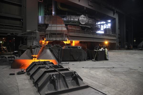 Stahlproduktion, über dts Nachrichtenagentur[/caption]