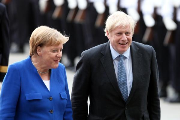 Angela Merkel und Boris Johnson, über dts Nachrichtenagentur