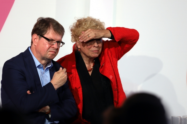 Ralf Stegner und Gesine Schwan , über dts Nachrichtenagentur