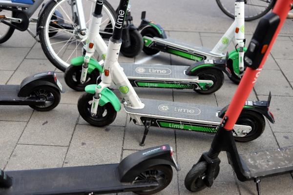 E-Scooter von Lime , über dts Nachrichtenagentur
