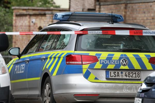 Polizeieinsatz 09.10.2019 in Halle (Saale), über dts Nachrichtenagentur