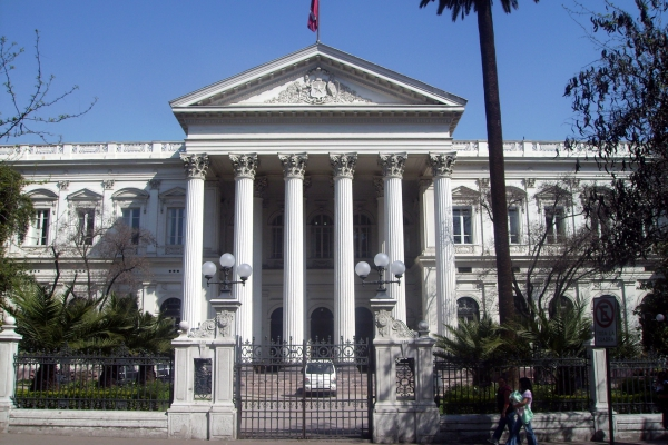 Historisches Regierungsgebäude in Santiago de Chile, über dts Nachrichtenagentur