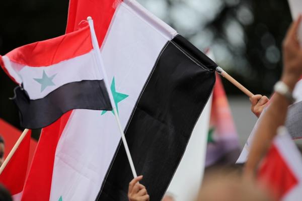 Flagge von Syrien, über dts Nachrichtenagentur