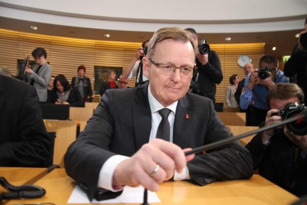 Bodo Ramelow im Erfurter Landtag, über dts Nachrichtenagentur