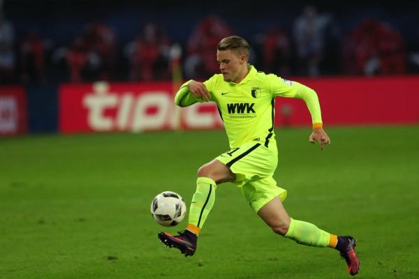 Philipp Max (FC Augsburg), über dts Nachrichtenagentur