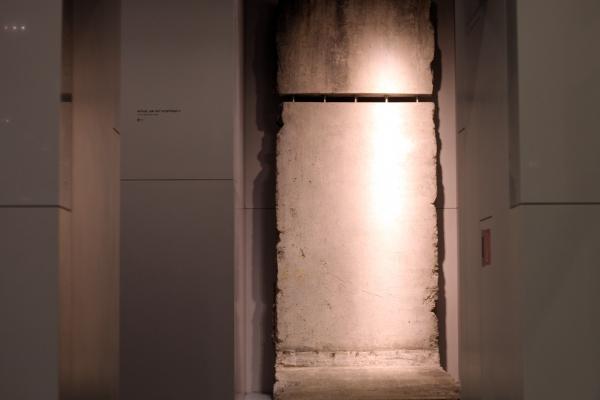 Berliner Mauer im Museum, über dts Nachrichtenagentur