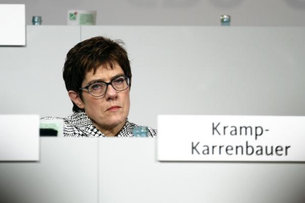 Foto: Annegret Kramp-Karrenbauer, über dts Nachrichtenagentur