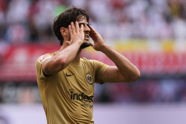 Gonçalo Paciência (Eintracht Frankfurt), über dts Nachrichtenagentur