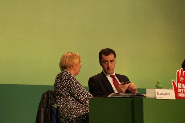 Claudia Roth und Cem Özdemir, über dts Nachrichtenagentur