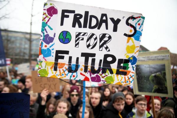 Foto: Schülerprotest am 29.03.2019, über dts Nachrichtenagentur