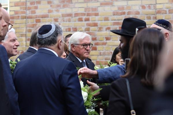 Steinmeier am 10.10.2019 in Halle, über dts Nachrichtenagentur