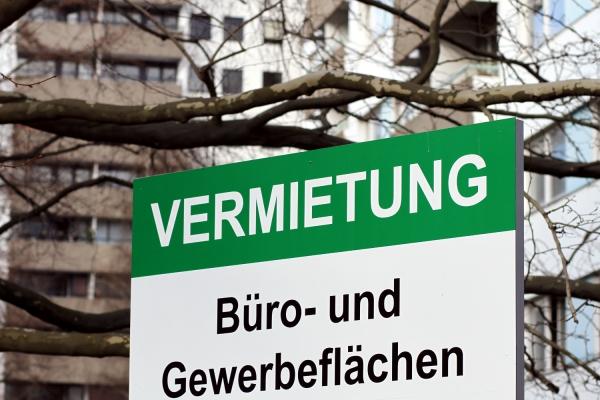 Foto: Vermietungs-Schild, über dts Nachrichtenagentur