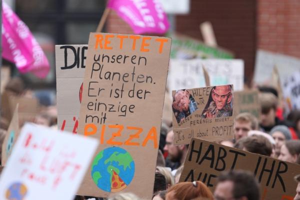Foto: Fridays-for-Future-Protest, über dts Nachrichtenagentur