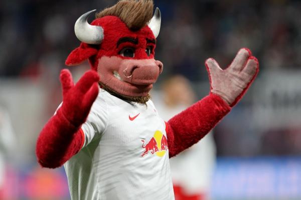 Maskottchen von RB Leipzig, über dts Nachrichtenagentur
