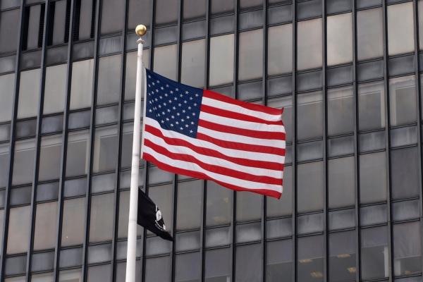 Foto: US-Flagge, über dts Nachrichtenagentur