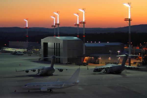 Foto: US-Luftwaffenbasis Ramstein, über dts Nachrichtenagentur