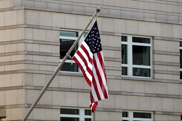 US-Flagge, über dts Nachrichtenagentur