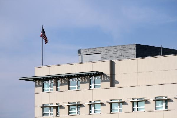 Foto: US-Botschaft in Berlin, über dts Nachrichtenagentur