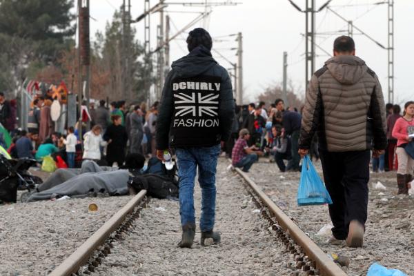 Foto: Flüchtlinge auf der Balkanroute, über dts Nachrichtenagentur