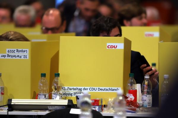 Foto: Abstimmung auf CDU-Parteitag 2019, über dts Nachrichtenagentur