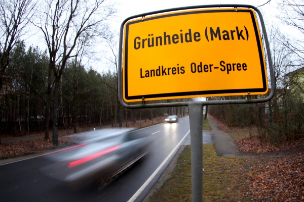 Grünheide in Brandenburg, über dts Nachrichtenagentur